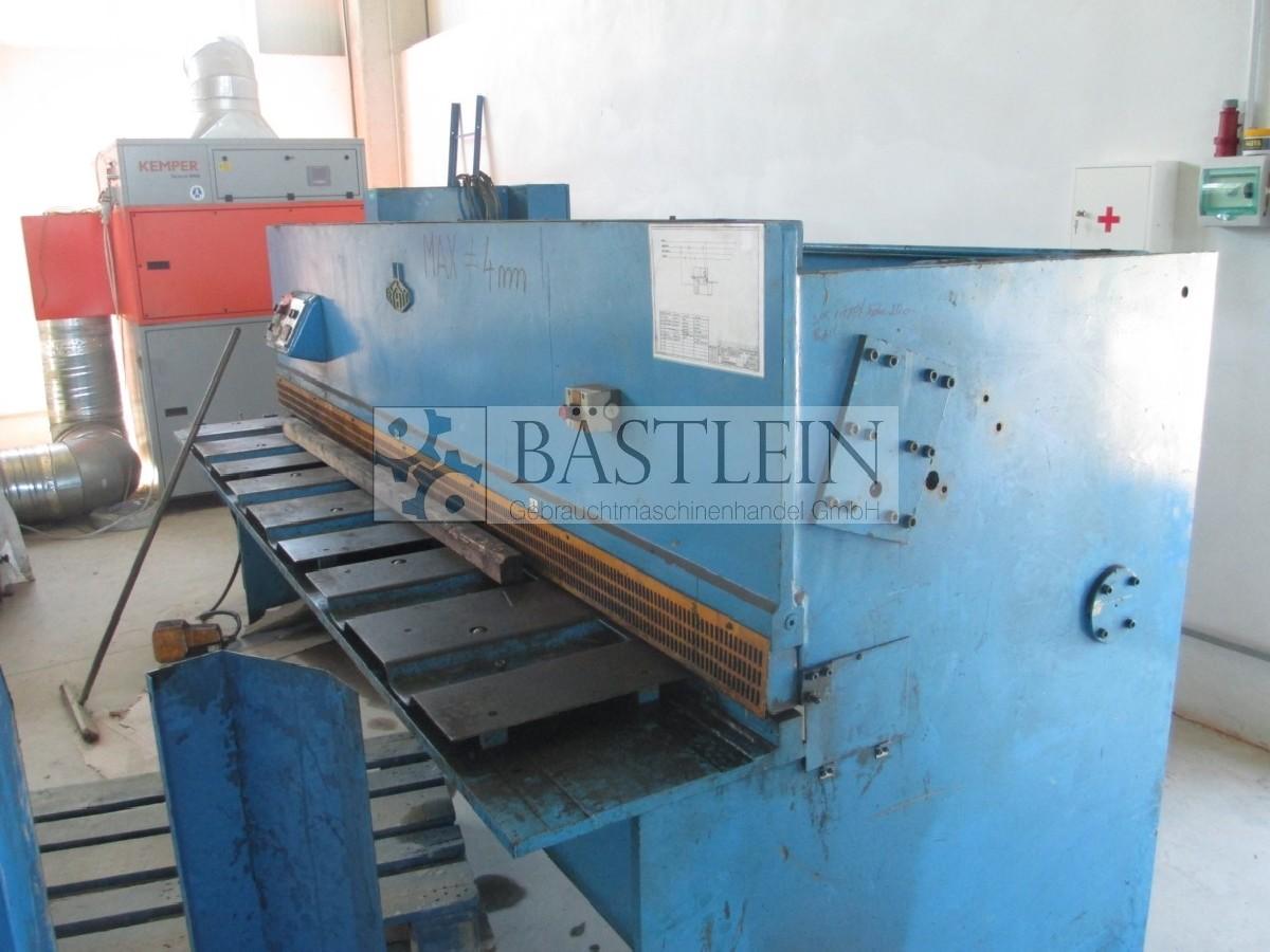 Hydraulic guillotine shear  EHT TSS 4-31 photo on Industry-Pilot