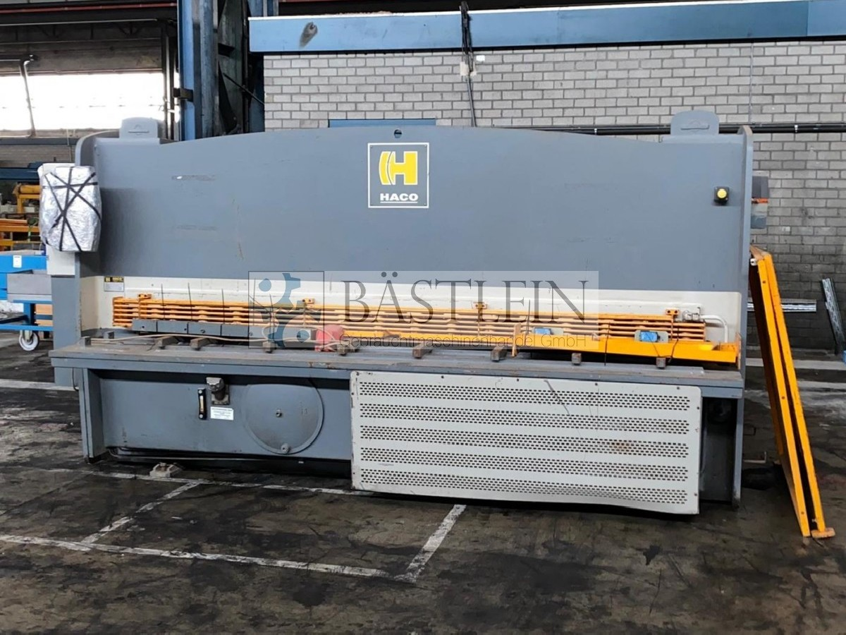 Hydraulic guillotine shear  HACO HSLX 3006 photo on Industry-Pilot