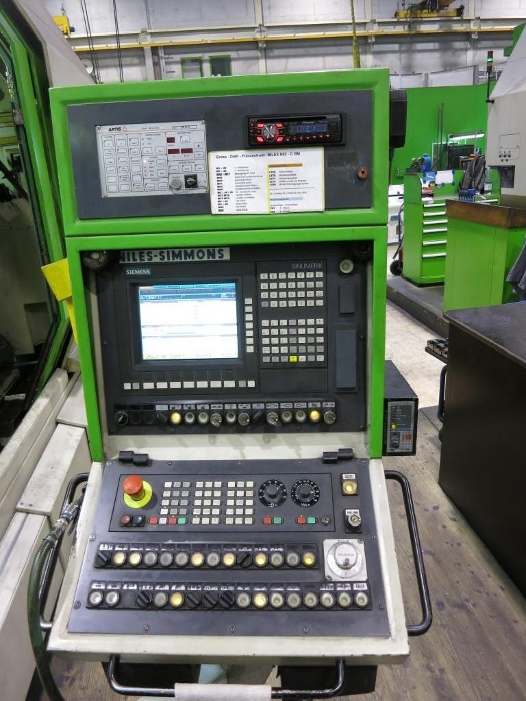 Токарно фрезерный станок с ЧПУ NILES N-42-C фото на Industry-Pilot