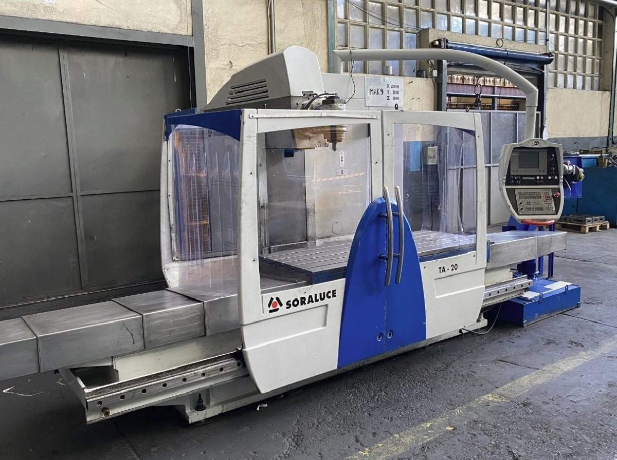 Продольно-фрезерный станок - универсальный SORALUCE TA-20 фото на Industry-Pilot