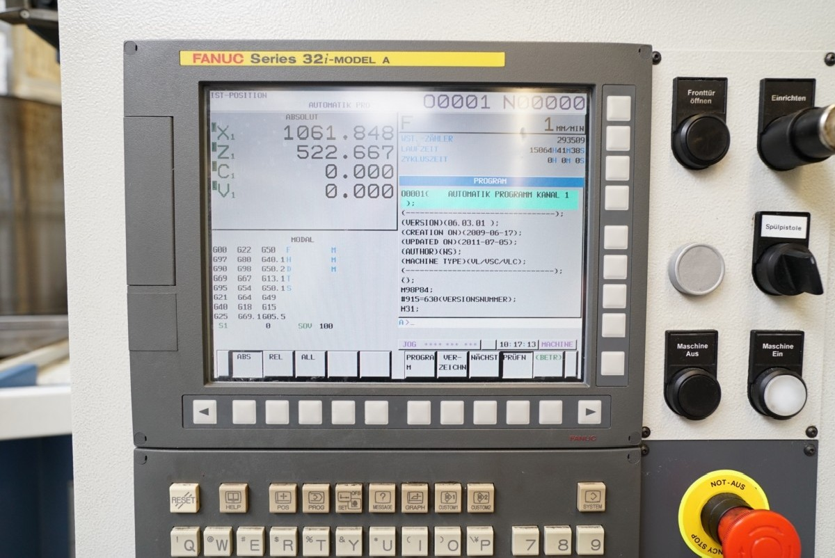 Вертикальный токарный станок EMAG VL5i C-Achse фото на Industry-Pilot