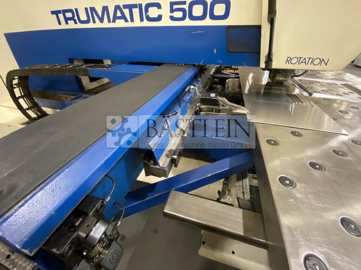 Координатно-пробивной пресс TRUMPF Trumatic 500 R фото на Industry-Pilot