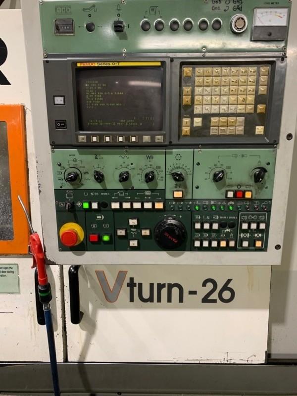 Токарно фрезерный станок с ЧПУ VICTOR V-Turn 26/110 CV фото на Industry-Pilot