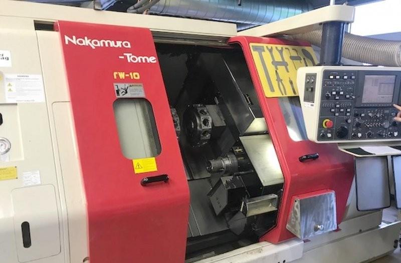 Токарный станок с ЧПУ NAKAMURA TW 10 фото на Industry-Pilot