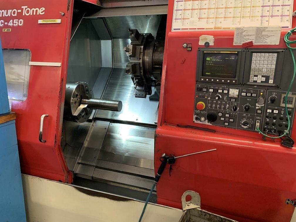 Токарный станок с ЧПУ NAKAMURA SC 450 фото на Industry-Pilot