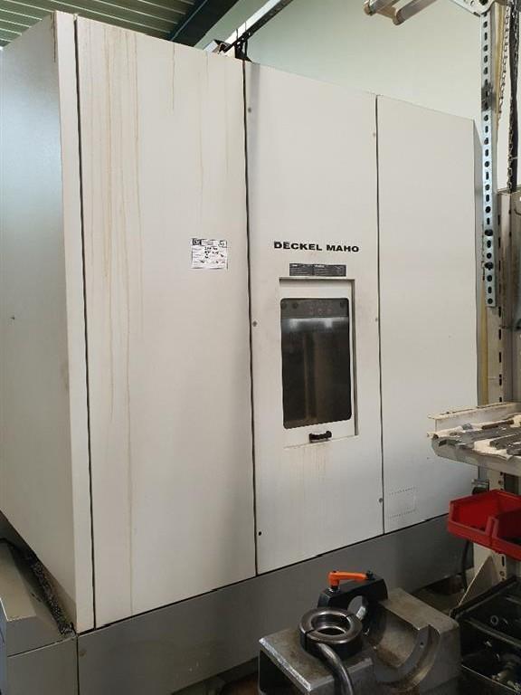 Обрабатывающий центр - вертикальный DECKEL MAHO DMF 300 linear фото на Industry-Pilot