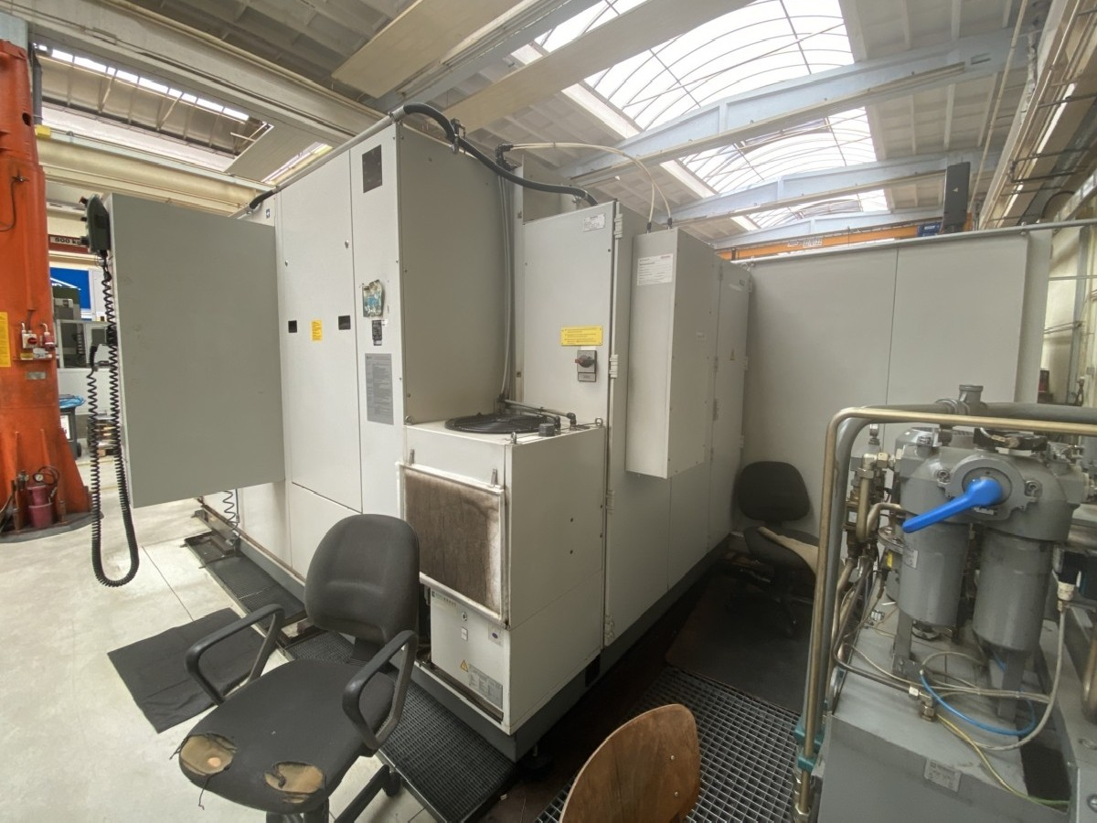 Обрабатывающий центр - горизонтальный HECKERT CWK 500 Dynamic фото на Industry-Pilot