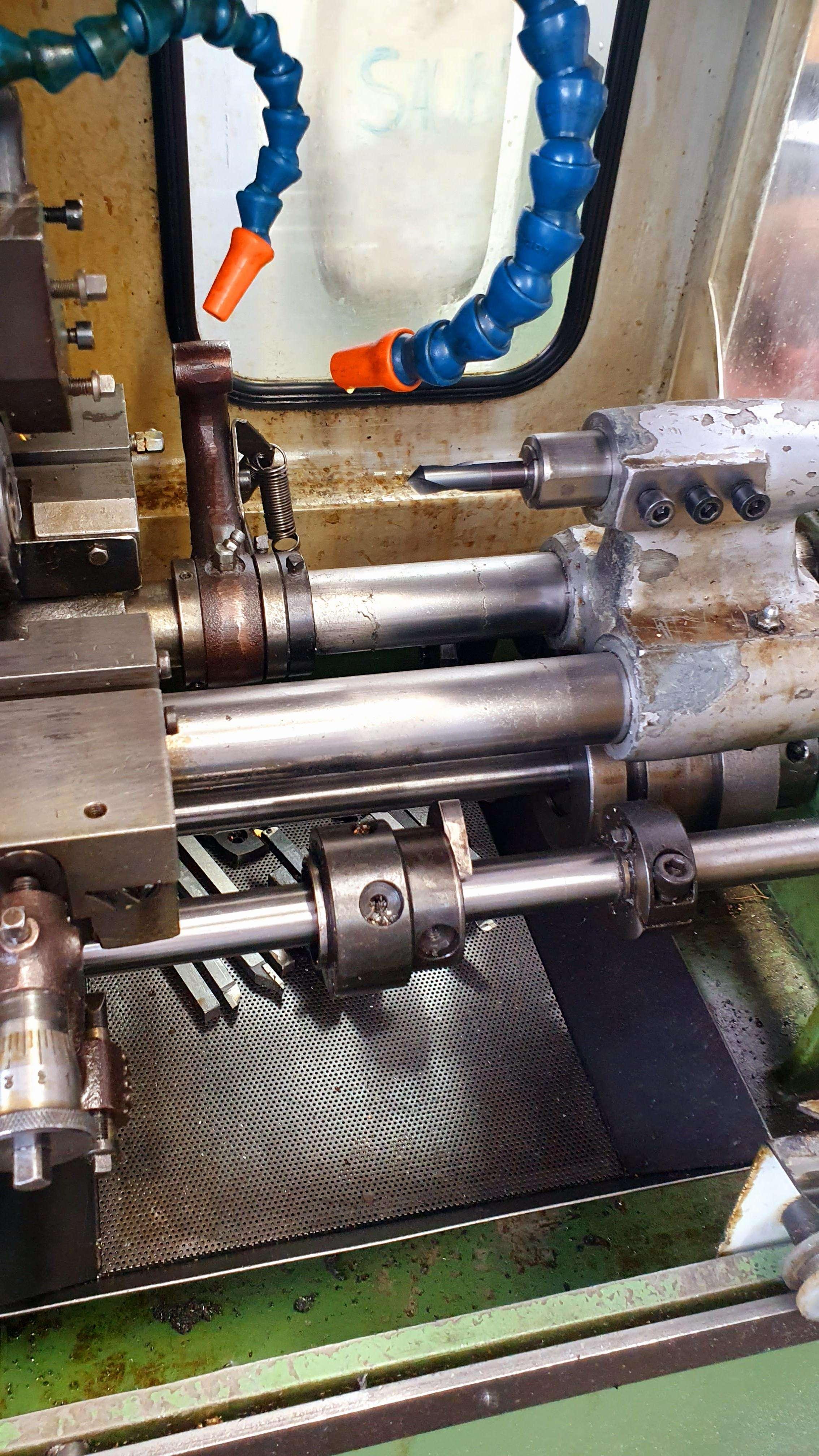 Прутковый токарный автомат продольного точения Ergomat A 15 E фото на Industry-Pilot