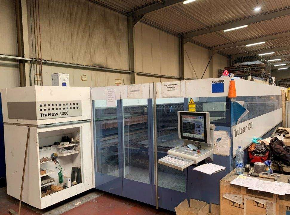 Laser Cutting Machine TRUMPF TruLaser 3040 (L32) photo on Industry-Pilot