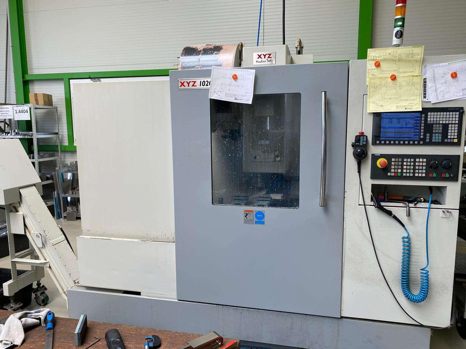 XYZ Machine Tools 1020 VMC