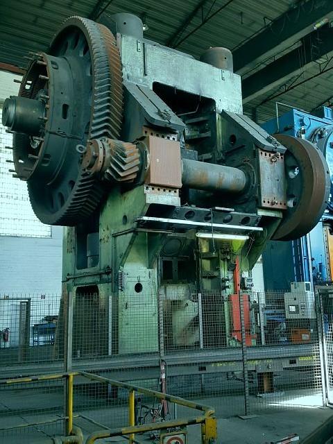 Кузнечный пресс - двухстоечный HASENCLEVER VEPES 8000/2000/450  фото на Industry-Pilot