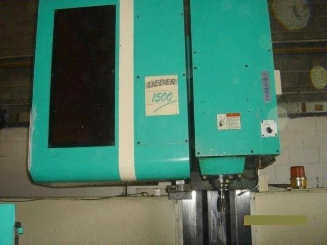 Обрабатывающий центр - вертикальный DAHLI LIEDER MCV 1450 фото на Industry-Pilot