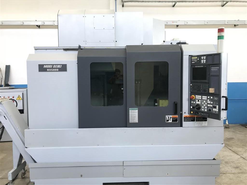 Обрабатывающий центр - вертикальный MORI SEIKI NV 5000 B alpha1 /40 фото на Industry-Pilot