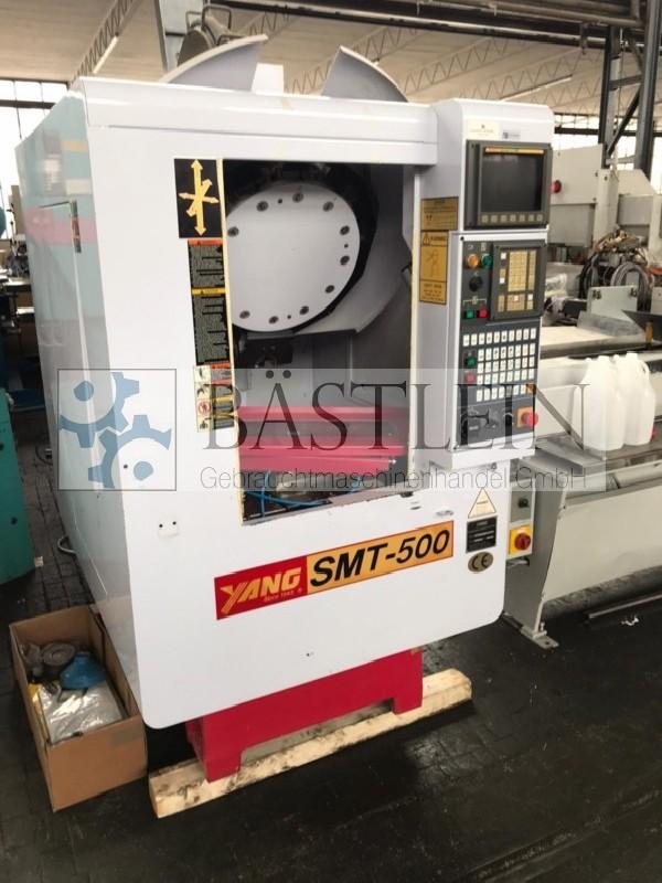 Обрабатывающий центр - вертикальный YANG SMT-500 фото на Industry-Pilot