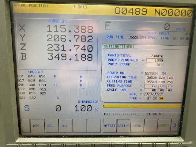 Обрабатывающий центр - вертикальный Robodrill T14 iB max 8000 min фото на Industry-Pilot