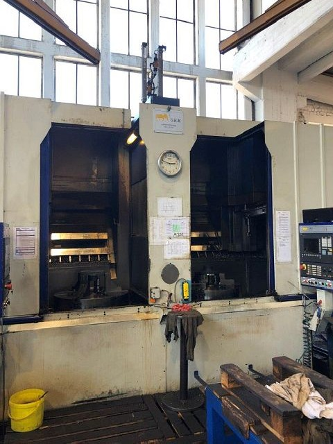 CNC-Vertical Turret Turning Machine - Single Col. ORM T78 photo on Industry-Pilot