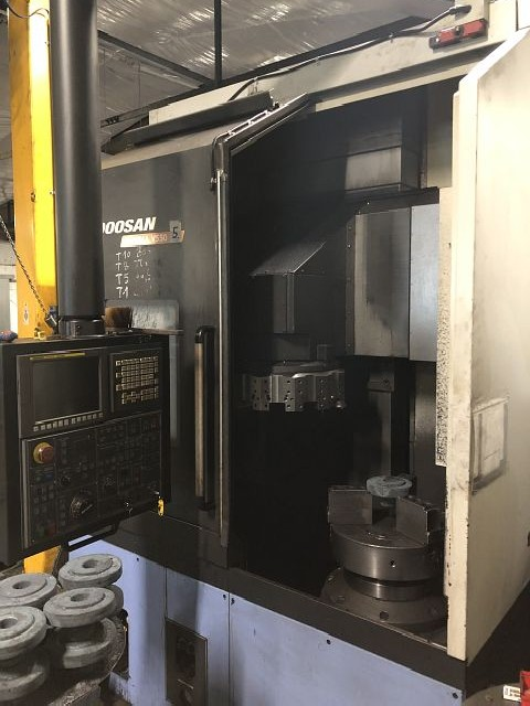 Карусельно-токарный станок одностоечный с ЧПУ DOOSAN PUMA V550 2011 фото на Industry-Pilot