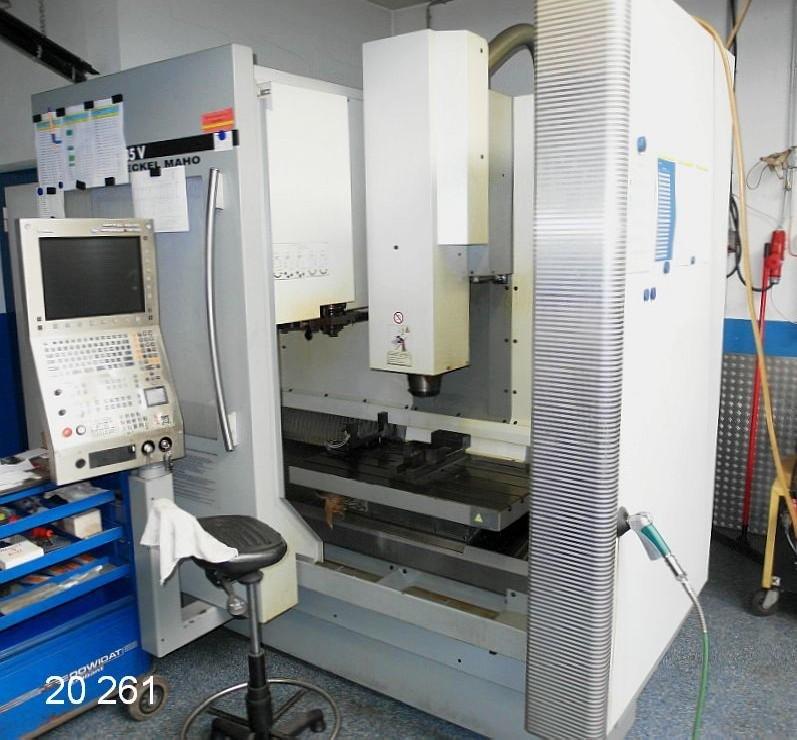 Обрабатывающий центр - вертикальный DMG DECKEL- MAHO DMC 835V  (neuwertig) фото на Industry-Pilot