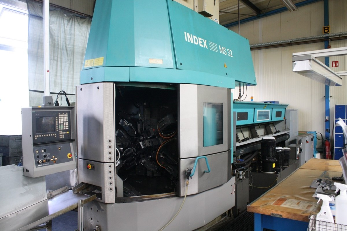 Bar Automatic Lathe - Multi Spindle INDEX MS 32C Y-Achse photo on Industry-Pilot