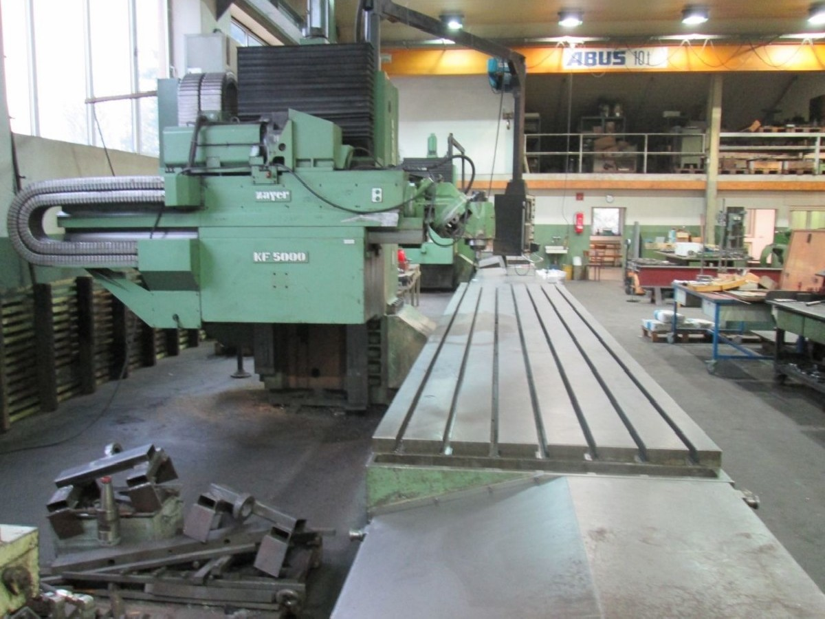 Bed Type Milling Machine - Universal ZAYER KF 5000 CNC photo on Industry-Pilot