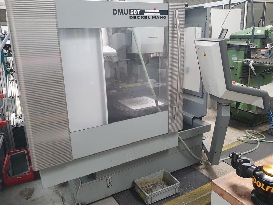 Обрабатывающий центр - универсальный DECKEL MAHO DMU 50 T 3 + 2 фото на Industry-Pilot