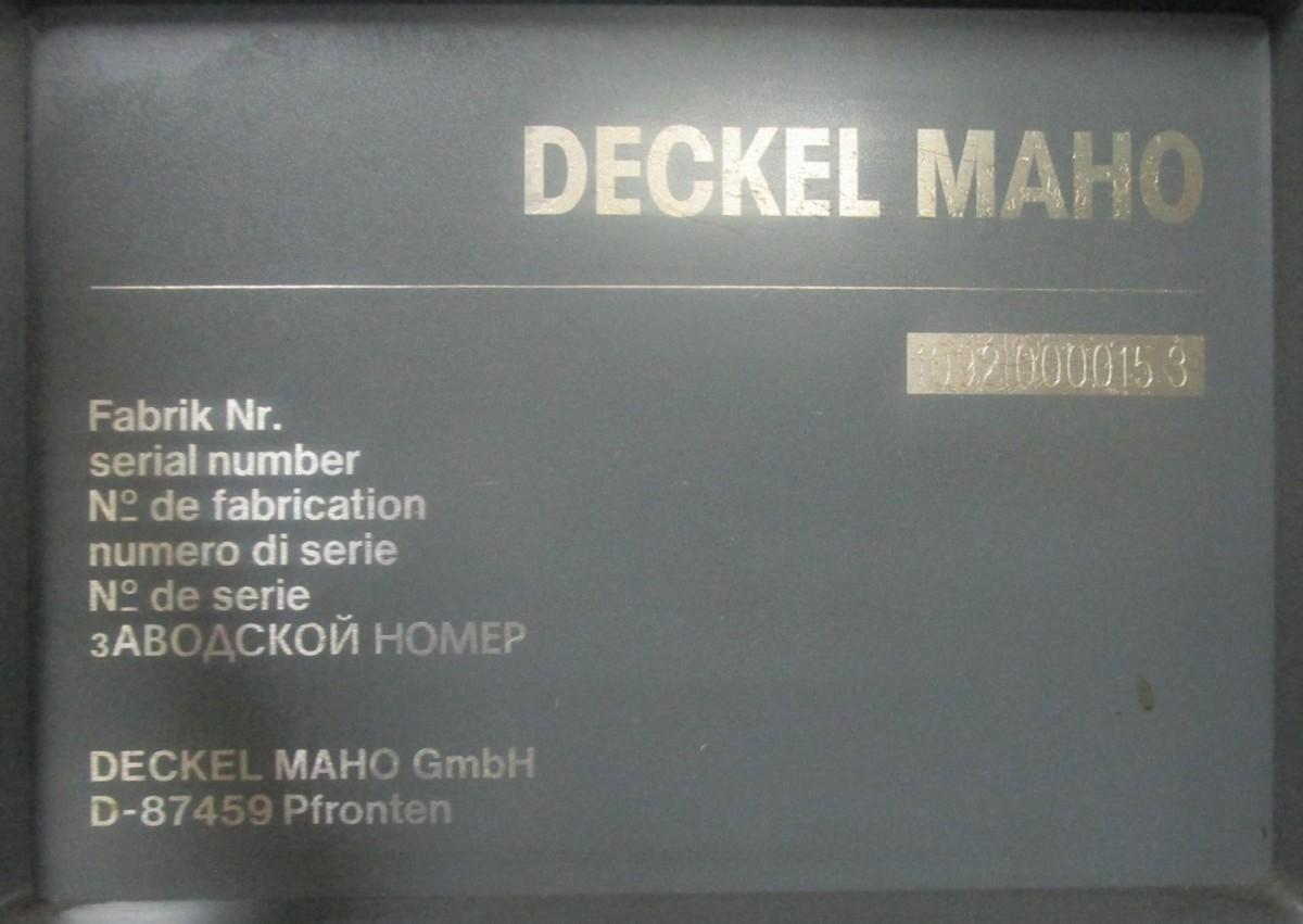 Обрабатывающий центр - универсальный DECKEL MAHO DMU 80 T Achsen 4 фото на Industry-Pilot
