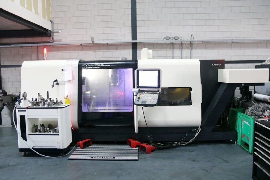 CNC Turning and Milling Machine GILDEMEISTER CTX beta 1250 TC BigBore photo on Industry-Pilot