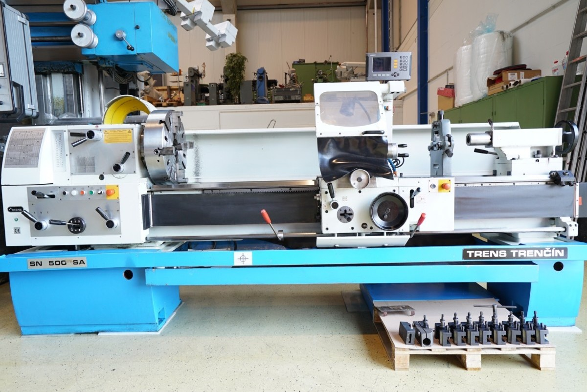 Токарно-винторезный станок TRENS SN500SA фото на Industry-Pilot