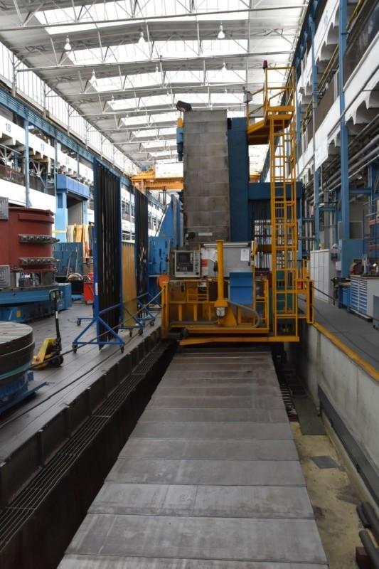 Горизонтальный расточный станок с неподвижной плитой - пиноль SCHARMANN Heavycut 2.3 / TD 4 фото на Industry-Pilot