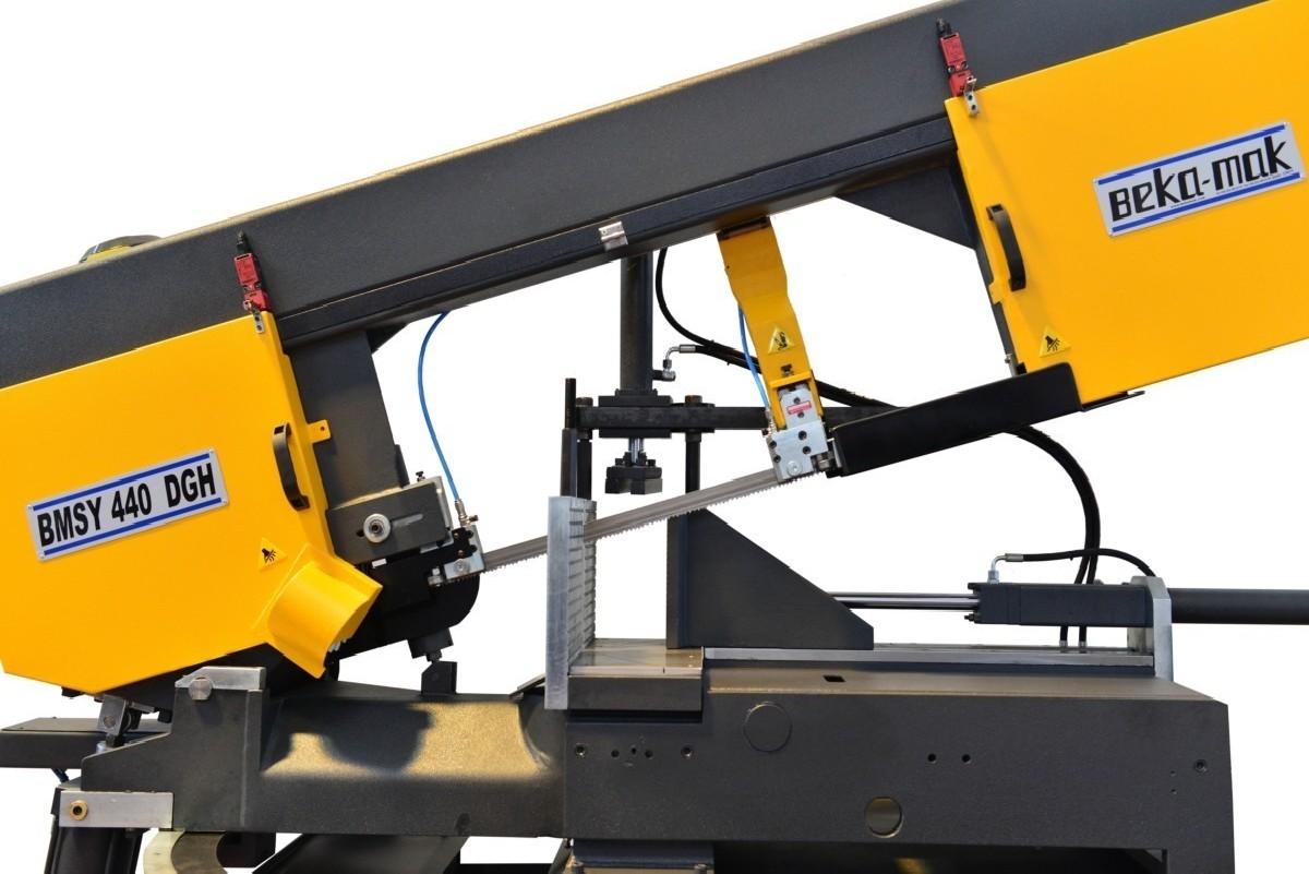 Automatic bandsaw machine - Horizontal Beka-Mak BMSY 440 DGH ECO photo on Industry-Pilot