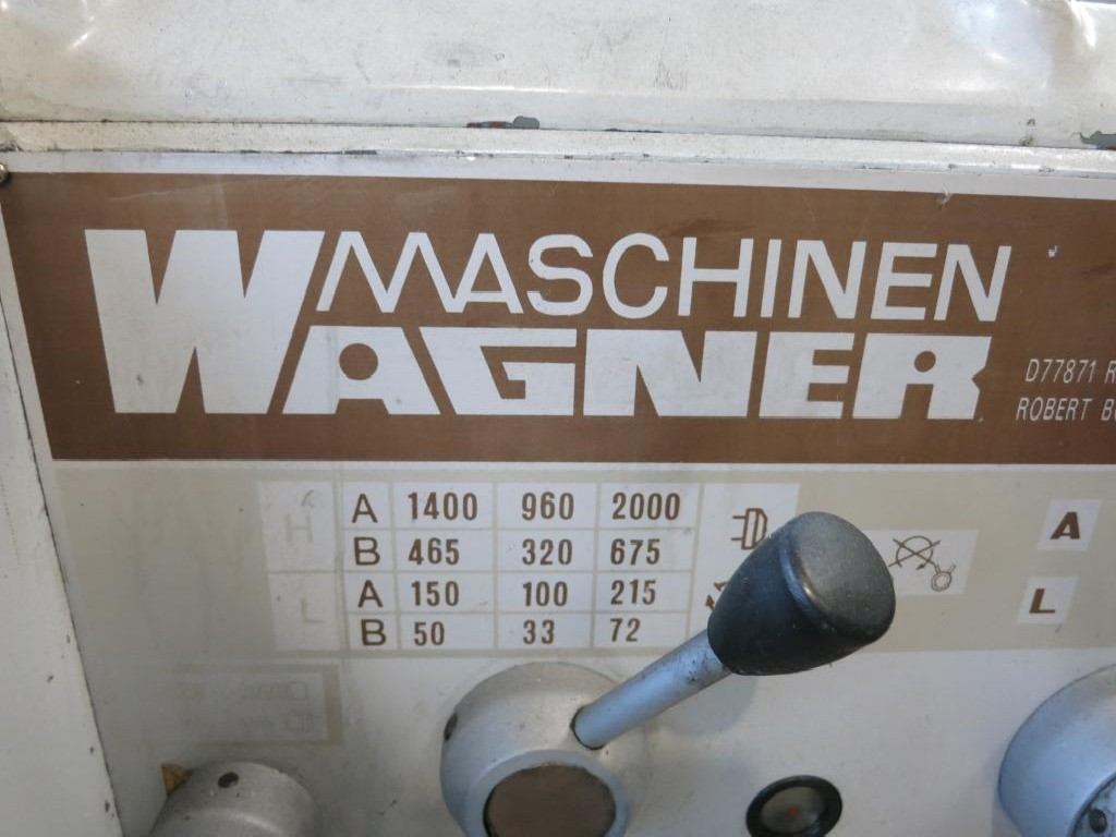 Токарно-винторезный станок WAGNER DCJ 230X1500 фото на Industry-Pilot