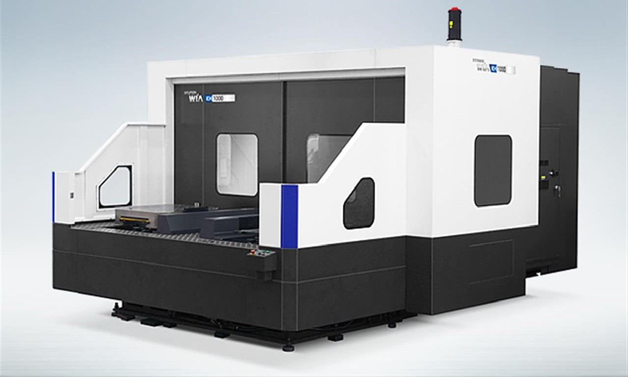 Machining Center - Horizontal HYUNDAI WIA KH1000 photo on Industry-Pilot