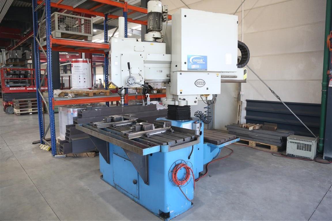 Скоростной радиально-сверлильный станок DONAU Danumeric 440 фото на Industry-Pilot