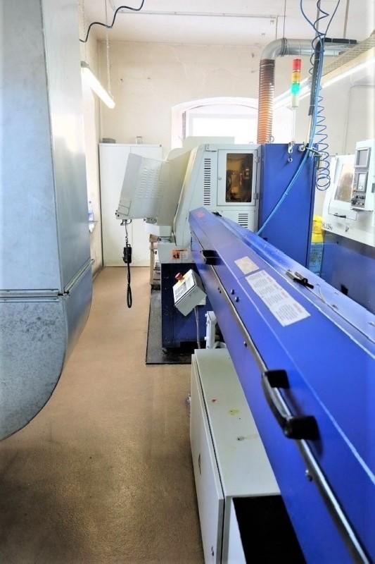 Прутковый токарный автомат продольного точения HANWHA SL-16S фото на Industry-Pilot