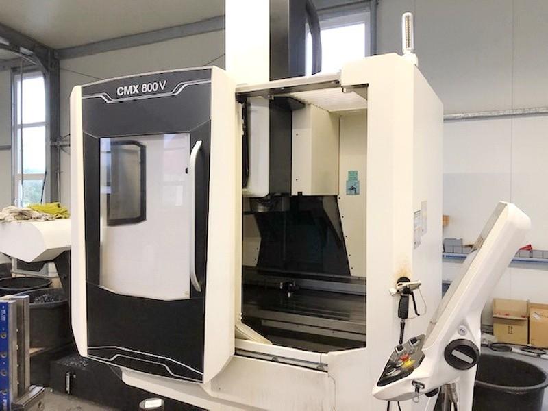 Обрабатывающий центр - вертикальный DMG MORI CMX 800 V фото на Industry-Pilot