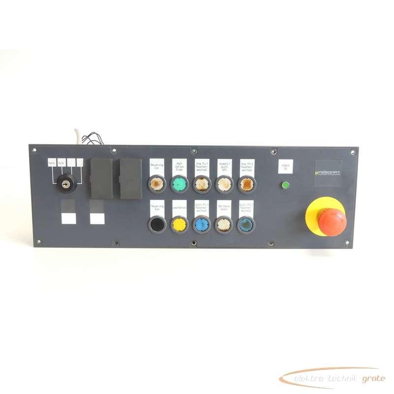 Siemens  6FC5203-0AD26-0AA0 Push Button Panel PP 031-MC-S SN:15836 photo on Industry-Pilot