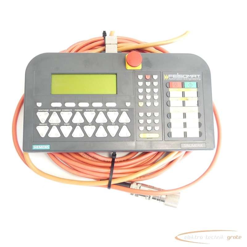 Siemens  6FC5403-0AA00-0AA1 Programmierhanderät Typ MPI E Stand A SN:T-X1614300 photo on Industry-Pilot