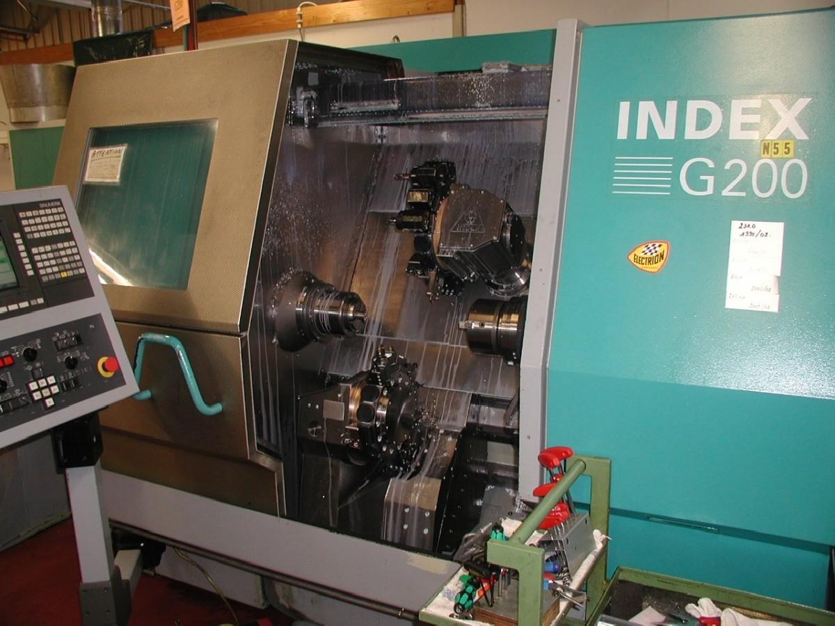 Токарно фрезерный станок с ЧПУ INDEX G 200 фото на Industry-Pilot