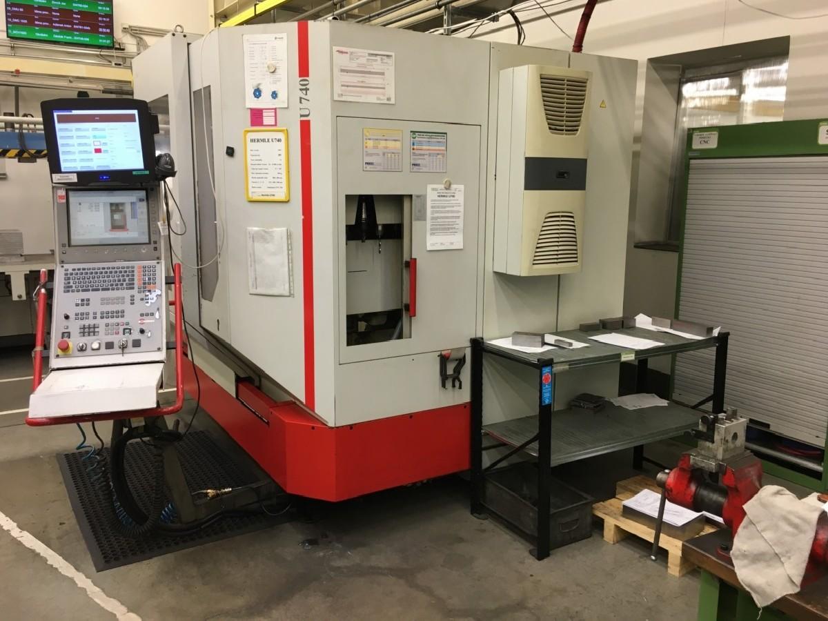 Обрабатывающий центр - универсальный HERMLE U 740 CNC фото на Industry-Pilot