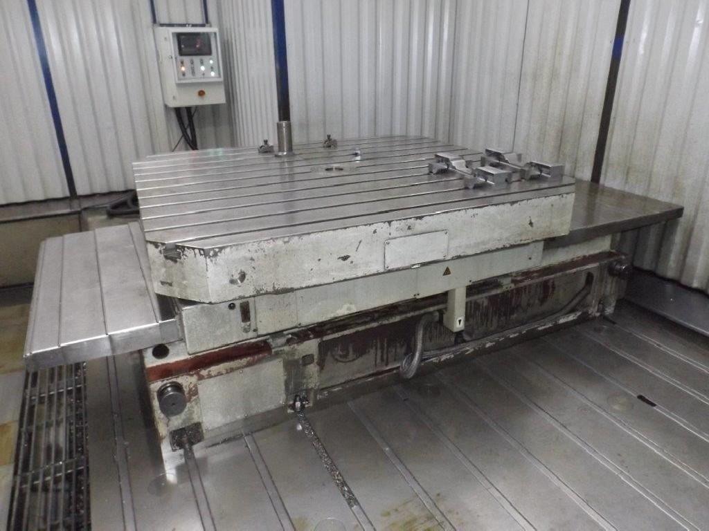 Горизонтальный расточный станок с неподвижной плитой - пиноль UNION PCR 150 CNC фото на Industry-Pilot