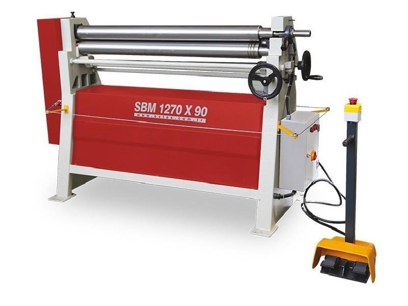 3-вальц. листогибочная машина OSTAS SBM 2070 x 1,5 фото на Industry-Pilot