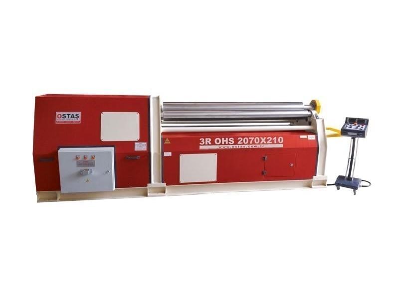 3-вальц. листогибочная машина OSTAS 3R OHS 2070 x 20/25 фото на Industry-Pilot