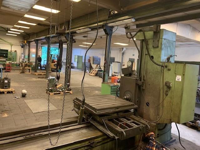Горизонтально-расточной станок TOS W9 фото на Industry-Pilot