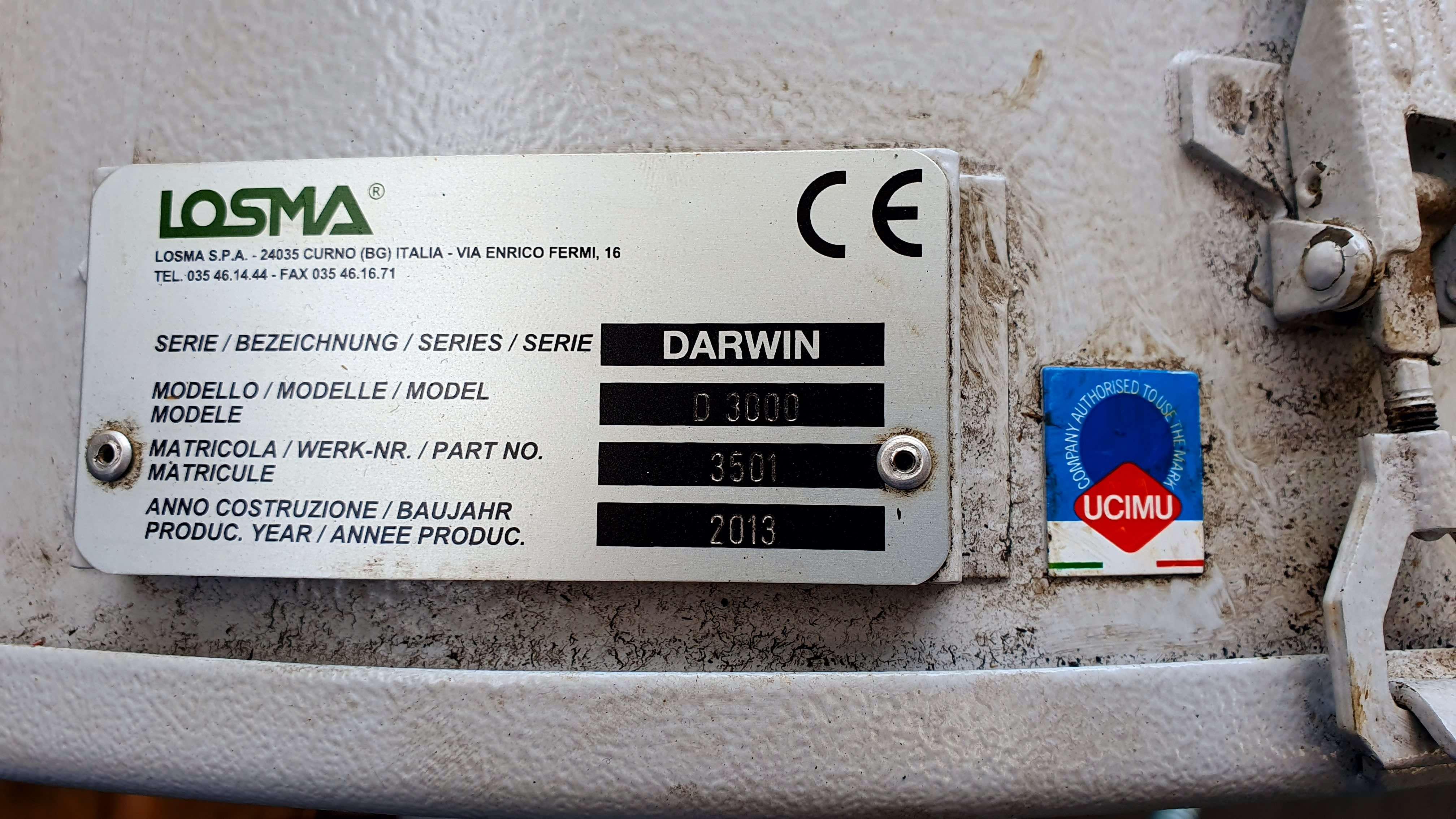 Gebrauchtmaschinen Losma Rawin D 3000