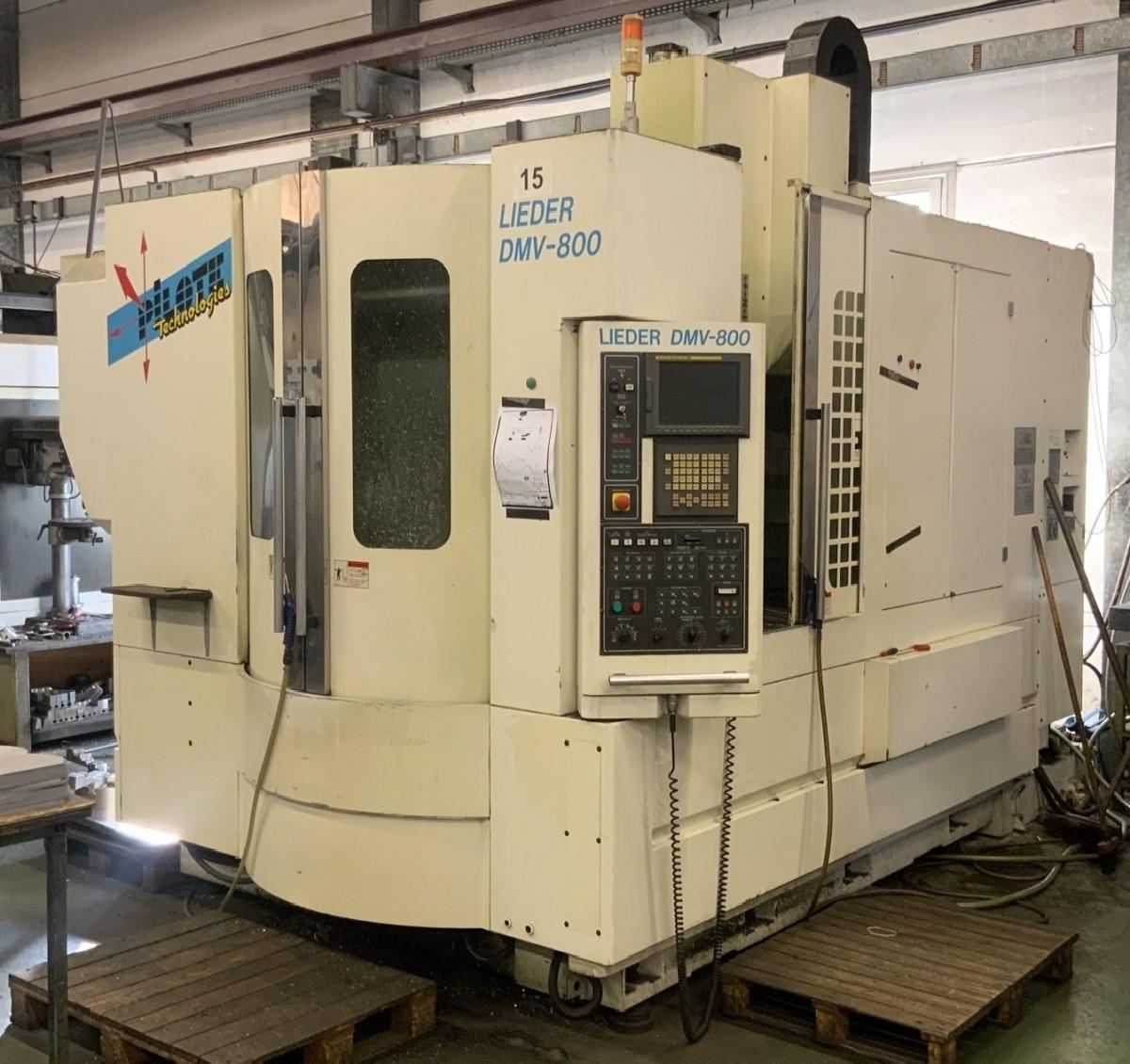Обрабатывающий центр - вертикальный DAH LIH LIEDER DMV 800 фото на Industry-Pilot