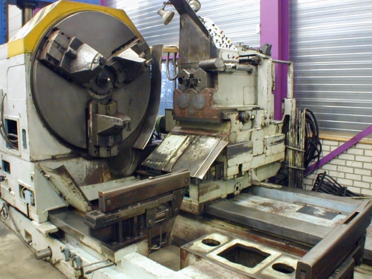 Колесотокарный станок RAFAMET UCB 125 фото на Industry-Pilot