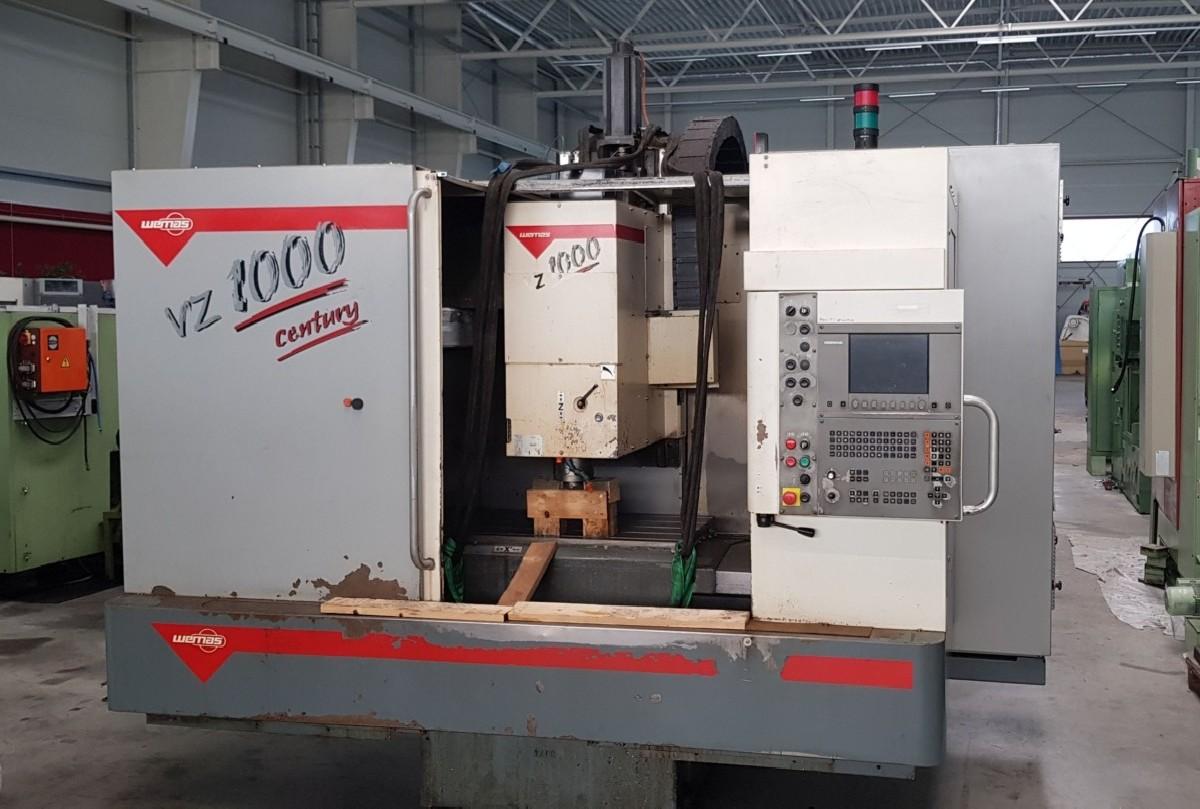 Обрабатывающий центр - вертикальный WEMAS VZ 1000 Century фото на Industry-Pilot