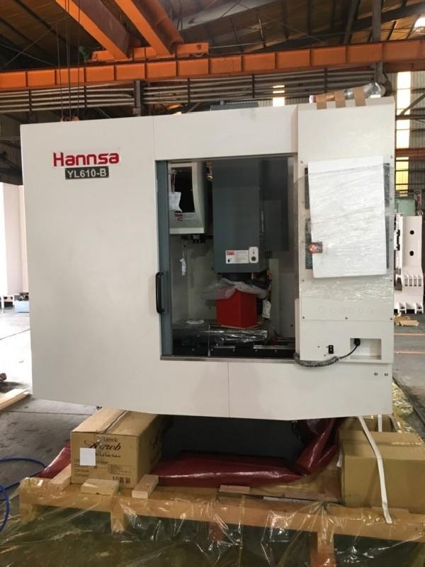 Обрабатывающий центр - вертикальный HANNSA YL 610-B фото на Industry-Pilot