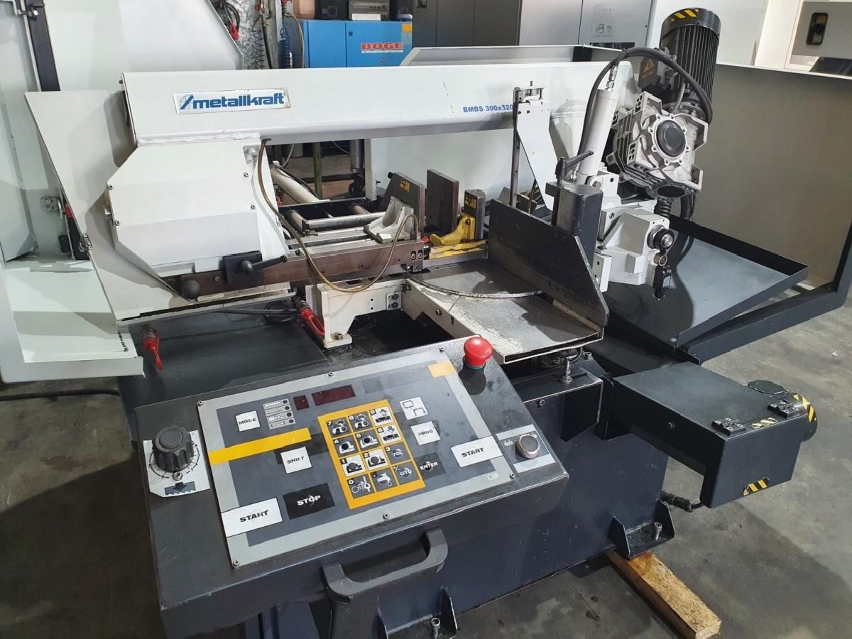 Ленточнопильный автомат - гориз. Metallkraft BMBS 300 x 320 CNC-G фото на Industry-Pilot