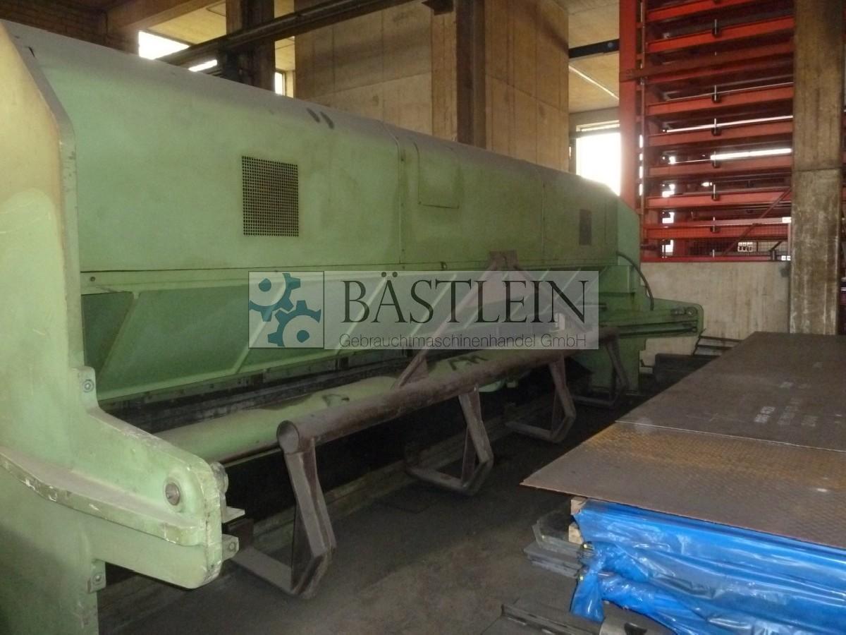 Hydraulic guillotine shear  LOTZE WSOHY 60 photo on Industry-Pilot